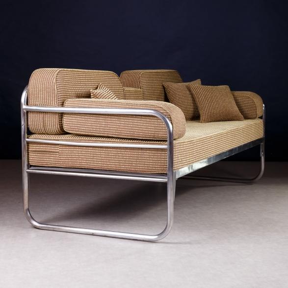 Sofa chrom