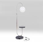 Lampa chromovaná-koule