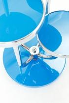 Stolek květinový  H 54-modrý