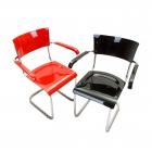 Židle s područkami, polokřeslo