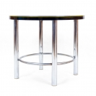 Kulatý stůl-Kovona černý